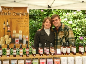 Pauper's Candle Company at OSU Mom's Weekend in 2012