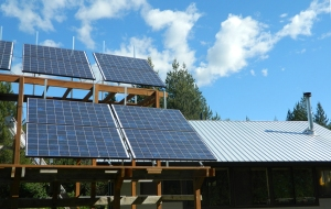 Our Home Run by Our Solar Panels