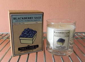 Blackberry Sage by Pauper's Candle Company