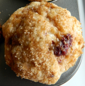 Rasp. Muffin Single
