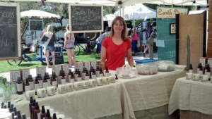 Krista at Sandpoint Farmer's Market