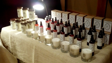 Pauper's Candle Display